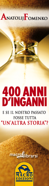 Macrolibrarsi.it presenta il LIBRO: 400 Anni d'Inganni
