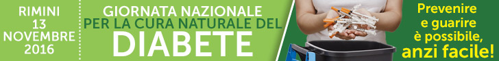 Macrolibrarsi.it presenta l'EVENTO: Evento: Giornata nazionale per la Cura Naturale del Diabete - 13 Novembre 2016 - Rimini
