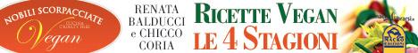 Macrolibrarsi.it presenta il LIBRO: Ricette Vegan - Le 4 Stagioni