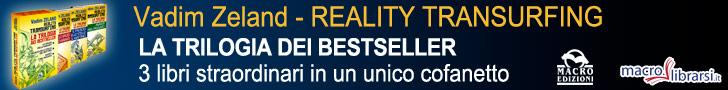 Macrolibrarsi.it presenta il Cofanetto: Reality Transurfing - La Trilogia di Vadim Zeland