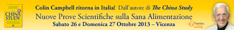 Macrolibrarsi.it presenta Evento: T. Colin Campbell, L'autore Di The China Study, Ritorna In Italia!