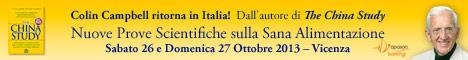 Macrolibrarsi.it presenta Evento: T. Colin Campbell, L'autore Di The China Study, Ritorna In Italia!