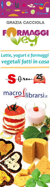 Macrolibrarsi.it presenta il LIBRO: Formaggi Veg