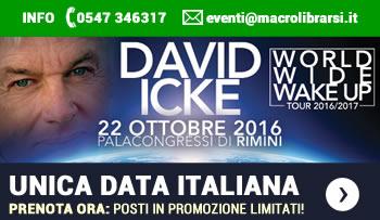 David Icke in Italia - Rimini 22 Ottobre 2016